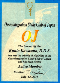 Osseointegration Study Club of Japan